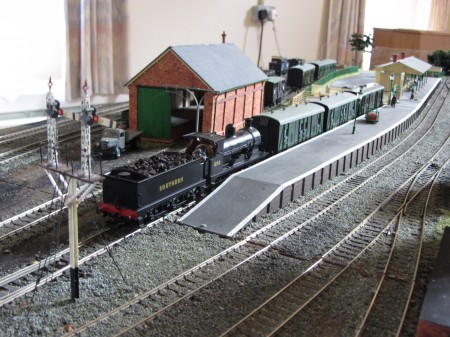 Hawkhurst at Model Trains in Petersfield on 1st June 2014