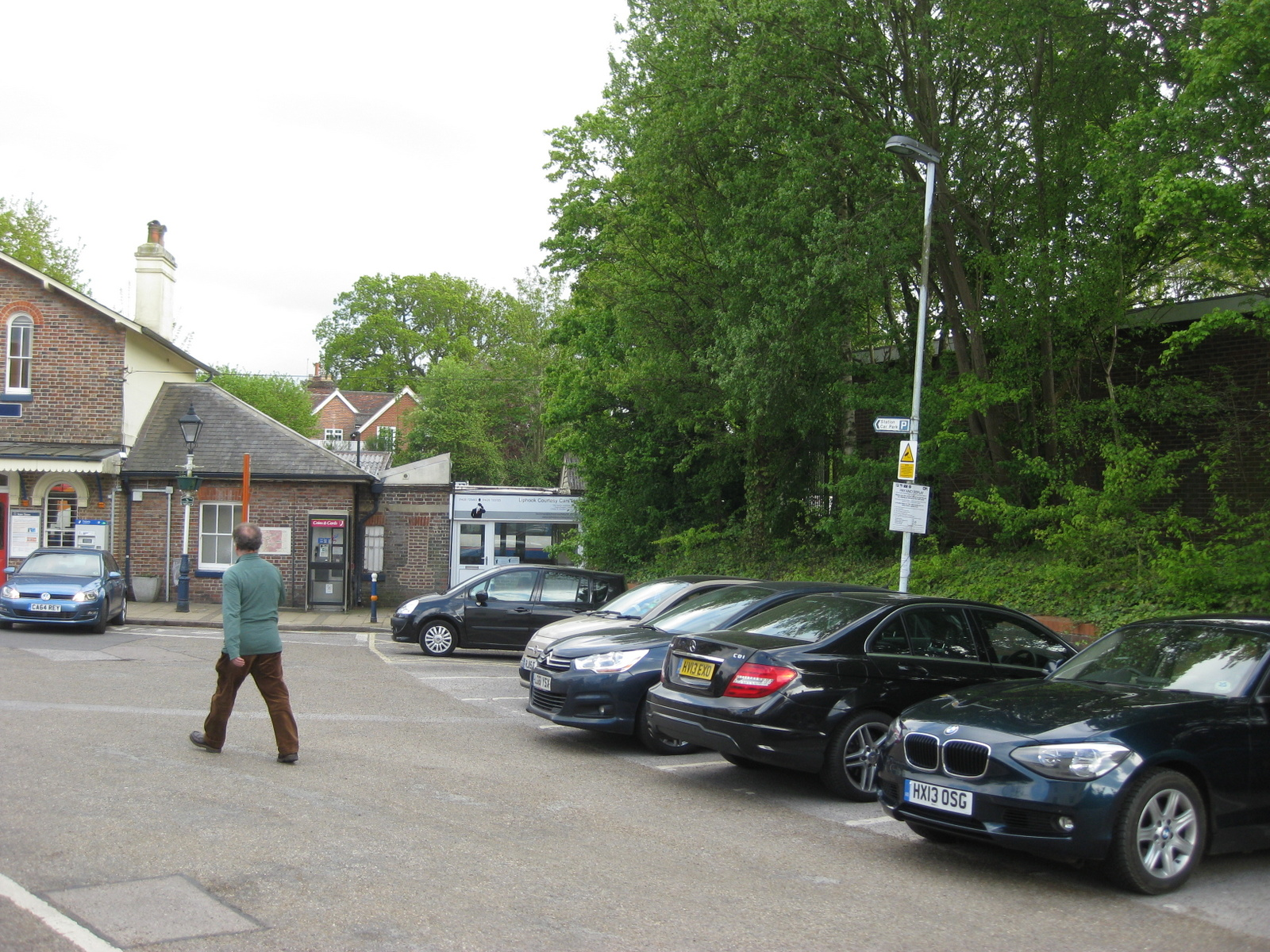 Liphook station as at May 2017